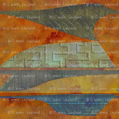 four-level lighter landscape