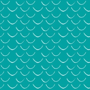 mermaid scales~aqua