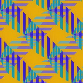 Half Weave (Blue)