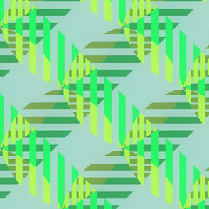 Half Weave (Green)