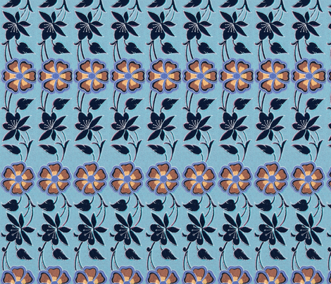 arabesque 69 fabric by hypersphere on Spoonflower - custom fabric