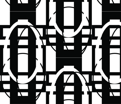 White_Hoop_House fabric by blayney-paul on Spoonflower - custom fabric