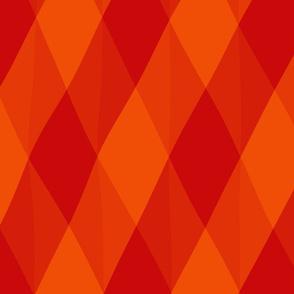 Red and Orange Diamond