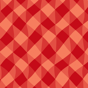 Red And Orange Pattern