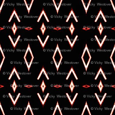 Ancestral Pattern on Black
