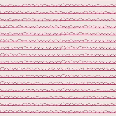 frilly stripe pinks fabric by ali*b on Spoonflower - custom fabric