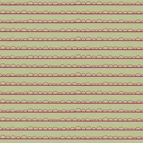 frilly stripe fuschia/av