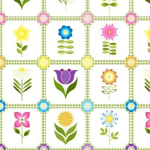 Groovy Flower Garden