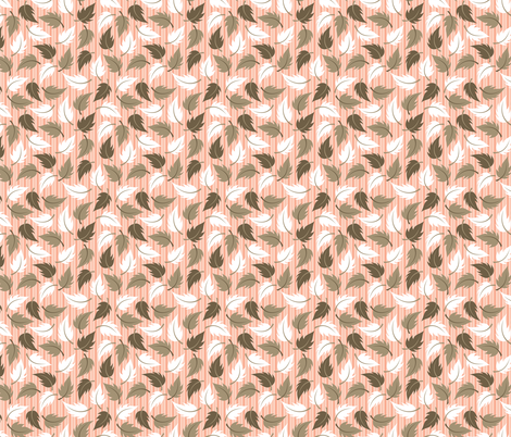 Leaf It to Carrie - small fabric by jewelraider on Spoonflower - custom fabric
