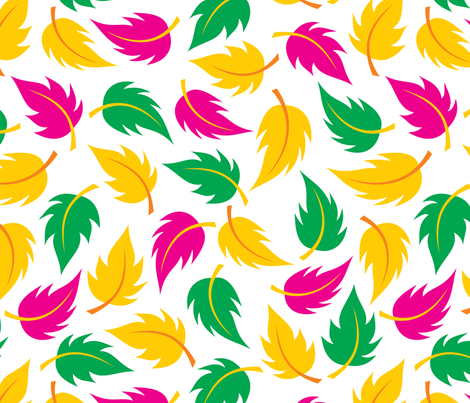 Leaf It to Leia - large fabric by jewelraider on Spoonflower - custom fabric