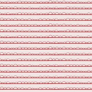 frilly stripe reds