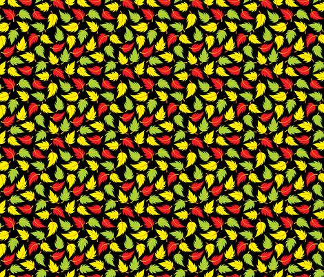 Leaf It to Luke - small fabric by jewelraider on Spoonflower - custom fabric