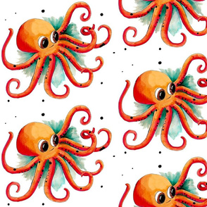 Olly the Octopus (Large Print)