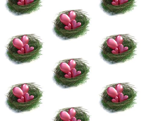 Love Nest fabric by imagine_cg_images on Spoonflower - custom fabric
