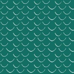 mermaid scales~spruce