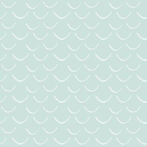 mermaid scales~pale grey blue