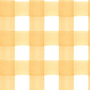 Yellow Gingham - 1.5""