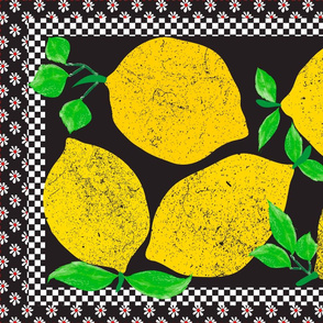 Lemon stamp