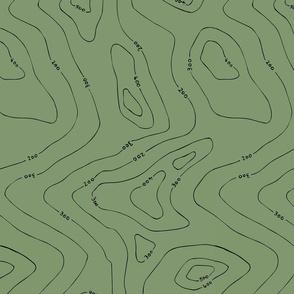 Contours green