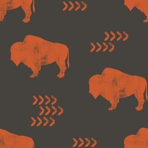 distressed buffalo - OB