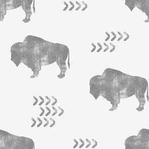 distressed buffalo - GG