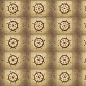 Ship's Wheel & Nautical