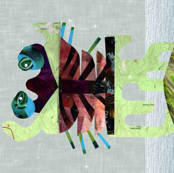 Artwork to Frame Monster Lewis