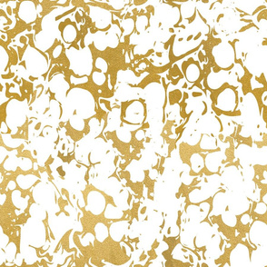 Gold marble marblelized gold bubble