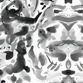 Rorschach on an Oriental Rug