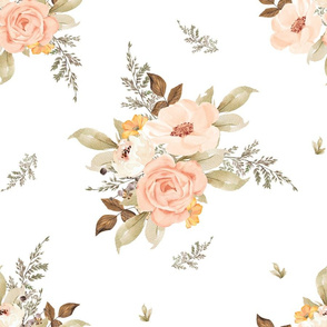 "18"" Dream Big Fawn Florals"