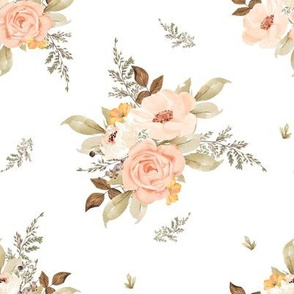 "8"" Dream Big Fawn Florals / MIX & MATCH"