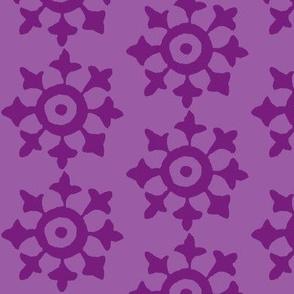 Sprocket Iris purple