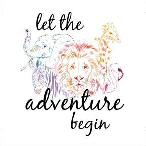 let the adventure begin lovey