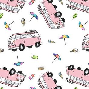 Summer Kombi - Pink
