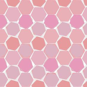 Hexagons - colorway 2