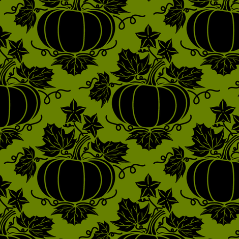Pick of the Patch (moss) fabric by jjtrends on Spoonflower - custom fabric