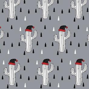 Christmas Cactus Grey