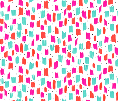 Colour reign 1 fabric by zoe_ingram on Spoonflower - custom fabric