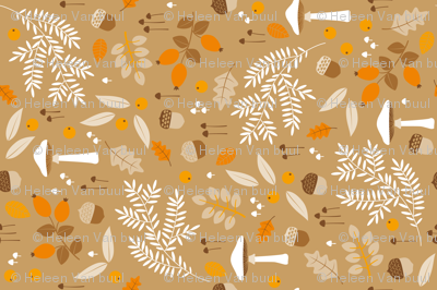 fall botanical print