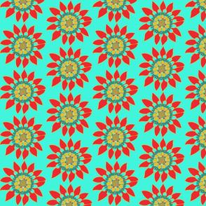 Little Lone Flower: light background