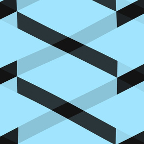 black_and_blue_chevron_glitch