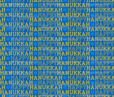 Happy Hanukkah Small