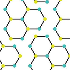 Hexagon Molecules