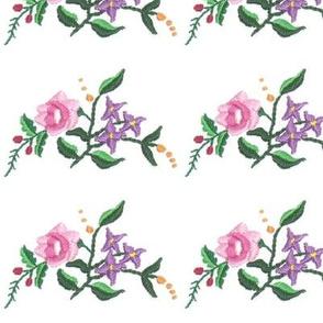 Kalocsai small bouquet