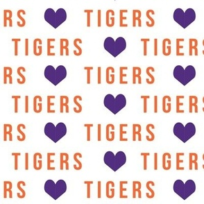 tigers fabric cheer sports - go tigers