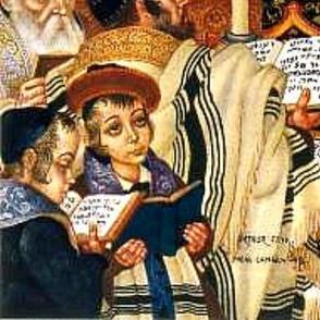 Famous Medieval Jewish Scene