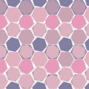Hexagons - colorway 3