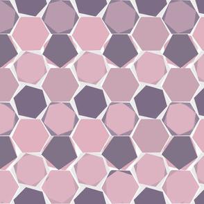 Hexagons - colorway 4