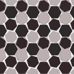Hexagons - colorway 6