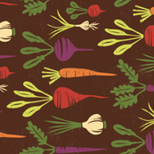 Botanical Root Veggies